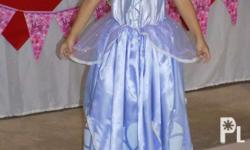 Sofia the first costume In good condition Missing