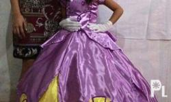 For sale Sofia the first gown! Once lang nagamit good