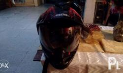 Sol helmet Motard With lens Large Bought at lazada at