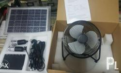 �Solar Fan 1pc �Led Bulb 3w 2pcs �Built-in