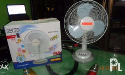 Solar DC-Electric Fan 12 Volts Unit price Php. 1,088