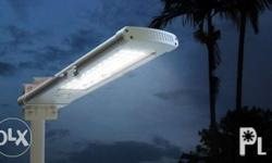 Solar Street Light All in One with Built-in Lithium