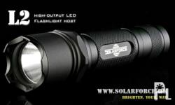 Solarforce tactical flishlight for airsoft , police,