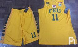 FEU official player issued jersey and short and jersey