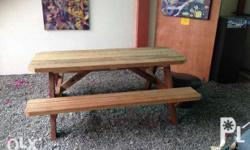 This solid hardwood bench is CUSTOM made from hardwood.
