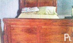 I'm selling my Queen size solid narra bed. for fast