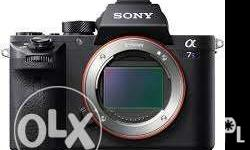 Sony A7SII A7S2 body Main Features 12MP - Full frame