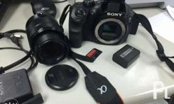 Helping a friend For sale only: Sony Alpha 3000 DSLR