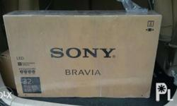 Brand new wrapped with plastic Sony full HDtv 32 inch