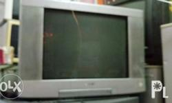 For sale Sony crt tv, good running condition, slightly