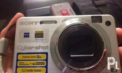 Barely Used Authentic w150 Sony Camera *8.1 mp Camera