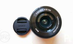 Sony E 16-50mm lens For Sony e-mount Bought on June 25,