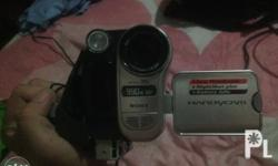 Sony video cam dna nagrerecord cra ng head. Pwede pa