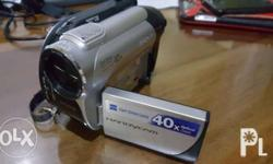 Sony DCR-DVD108 Carl Zeiss Lens 40x Optical Zoom Uses