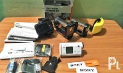For sale: Sony HDR As200v Price: Php 16,000 - 100% good