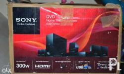 Sony dvd usb hdmi home theartre system