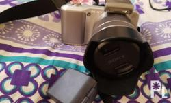 Reduced price Slightly nego.. sony dslr nex c-3 w/