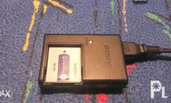 Sony NPFD1 Rechargeable Battery Pack with sony original