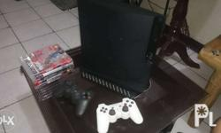Playstation 3 slim 320gig Complete accessories sell or