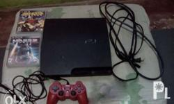 Complete with HDMI cable and 1 controller, 3 CD games,