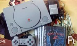 Item: Sony Playstation 1 Console Complete Package Set