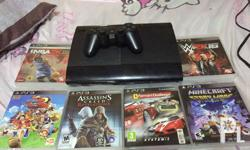Ps3 250gb Comes with 6 games 1 controller All cables