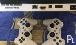 Sony playstation ps3 white 160gb with free games