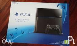 SONY PS4 game console 1 TB with controller stick