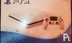 Selling our Sony PS4 Glacier White (500 GB) complete