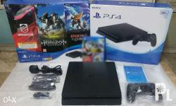 For SALE PS4 Slim 500 GB Complete + 1 Game (Monster