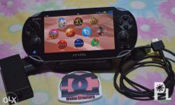 Original PS Vita touch screen with 4gb memory card with