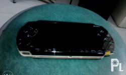 Sony PSP 1000 with charger 2gb memory stick Black Metal