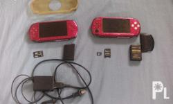 Package: 2 PSP-3000 1 Charger 2 Battery included: