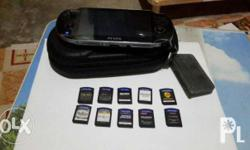Sony psvita with 10 original game chip (all in) The