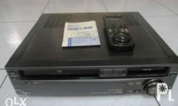 Sony VHS Player Recorder Karaoke with Rewinder for Sale in San Pedro
