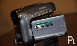 Deskripsiyon Sony Videocam DCR-HC42 Mini DV Unit and