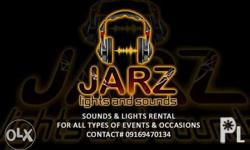 JARZ Lights & Sounds is Offering something Great and