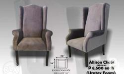 For Spa Chair or LivingRoom Allison Chair 32inch.