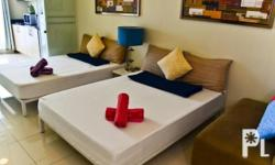 Description: 2 double size beds High floor and with a