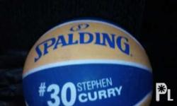 Stephen curry ball with signature Almost brand new