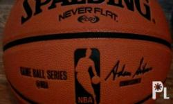 The Spalding NEVERFLAT Basketball offers exceptional