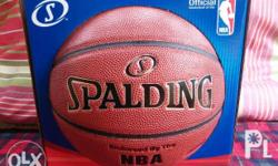 Spalding Zi/O Excel Leather Basketball 29.5� Full
