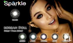 NEW ICE DOLLY AND SPARKLE CONTACT LENS by Kaye