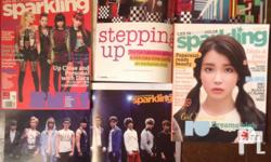 SPARKLING MAGAZINE for only 50pesos EACH! Condition: