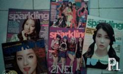 im selling my sparkling magazines for 50php each