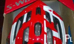 Brand new Specialized Prevail Helmet. Color Red/White