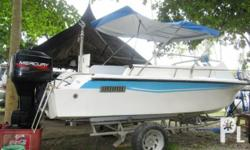 We are selling this 90hp Yamaha 19 feet Speed Boat Used