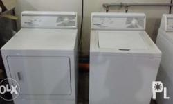 All In: 1 pc top load washing machine 1 pc front load
