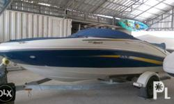 Searay speed boat with inboard engine with average