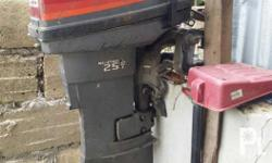 Mariner 25 hp outboard engine Running condition Can do